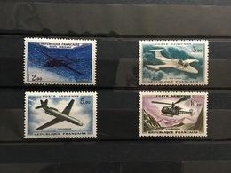 FRANCE Poste Aérienne 1960-64 - YT N° 38 à 41 - Timbres Neufs Sans Charnière - Poste Aérienne