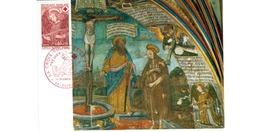 Carte Premier Jour  / Chapelle De DIssay  / Poitiers - Maximumkarten