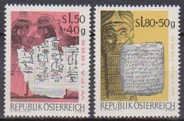 Österreich 1965 Nr.1184 - 1185  ** Postfr. Intern. Briefmarkenausstellung WIPA 1965, Wien ( 8762) Günstige Versandkosten - 1961-70 Ungebraucht