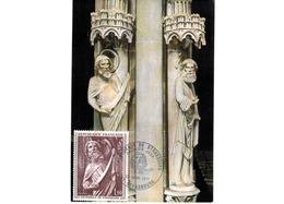 Carte Premier Jour  / Cathédrale De Strasbourg    / 23-1-1971 - 1970-79