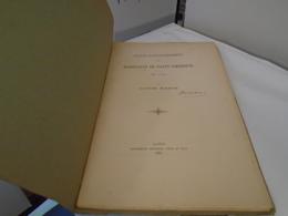 CHARTE D'AFFRANCHISSEMENT DES HABITANTS DE SAINT-AMBREUIL EN 1446  LOUIS BAZIN  1887 Plaquette Originale Pas Un Reprint - Bourgogne