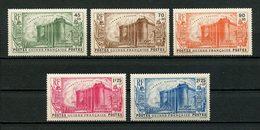 GUINEE 1939  N° 153/157 ** Neufs MNH  LUXE C 81.25 € La Révolution La Bastille - Nuovi