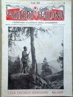 La Guerra Italiana 12 Settembre 1915 WW1 Cadorna Joffre Censura Avanzata Cadore - Guerra 1914-18