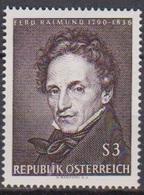 Österreich 1965 Nr.1183  ** Postfr. 175.Geb. Ferdinand Raimund ( 8767) Günstige Versandkosten - 1961-70 Ungebraucht