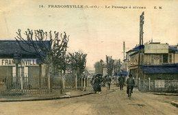 FRANCONVILLE - Le Passage à Niveau - Franconville