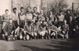 PHOTO De L'équipe 1ère De Rugby De MONTREJEAU En 1946. - Montréjeau
