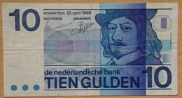 10 Gulden PAYS-BAS 1968 - Nederland