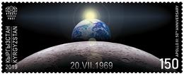 Kyrgyzstan 2019. KEP. Stamp. Apollo XI: 50th Anniversary. - Kyrgyzstan