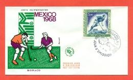 HOCKEY SU PRATO-HOCKEY SU ERBA - OLIMPIADI  MESSICO - 1968 - Hockey (su Erba)