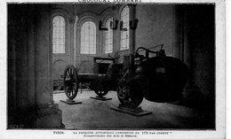 DEPT 75 : Paris 03 : édit Chocolat Lombart , Conservatoire Des Arts Et Métiers ; La Première Automobile Construite En - Arrondissement: 03