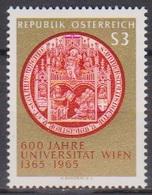 Österreich 1965 Nr.1180  ** Postfr. 600 Jahre Universität Wien ( 8772) Günstige Versandkosten - 1961-70 Ungebraucht