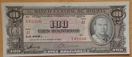 100 Bolivianos BOLIVIE 1945 - Bolivia