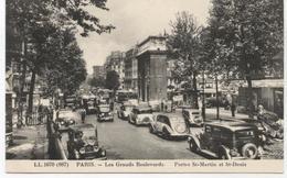 75 Paris 10° GRANDS  BOULEVARDS  Portes St Martin Et St Denis  G726 - District 10