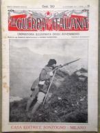La Guerra Italiana 26 Settembre 1915 WW1 Plezzo Malborghetto Trento Vicenza Zar - Guerra 1914-18