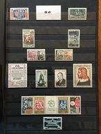 FRANCE Année Complète 1964 - YT N° 1404 à 1434 - 31 Timbres Neufs Sans Charnière - France