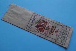 VAN BIJNEN's ' NANGKA THEE ' Amsterdam > Het Neusje V/d Zalm( Papieren Zakje 20 X 6 Cm. ) Anno 19?? ( Zie Foto's ) ! - Autres Collections