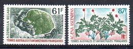 TAAF - YT N° 52-53 - Neufs ** - MNH - Cote: 14,20 € - Terres Australes Et Antarctiques Françaises (TAAF)