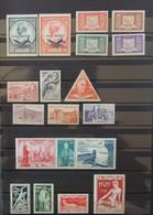 Monaco - Collection De Poste Aérienne 1946 - 1953  - Charnière Légère  - Cote : 250 Euros - Poste Aérienne
