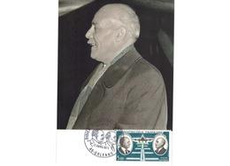 Carte Premier Jour  / Daurat - Vanier / Le Vanneur   / Orléans  / 17-4-1971 - Maximumkarten