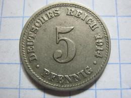 5 Pfennig 1914 (D) - [ 2] 1871-1918 : German Empire