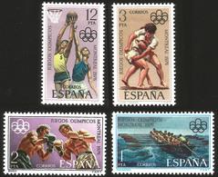 V) 1976 ESPAÑA, 21ST OLYMPIC GAMES, MONTREAL CANADA, MNH - Spain