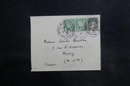 IRLANDE - Enveloppe De Dun Laoghaire Pour La France En 1931, Affranchissement Plaisant - L 35758 - 1922-37 Stato Libero D'Irlanda