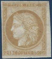 Colonies Générales N°19* 15c Bistre Frais & TTB - Ceres