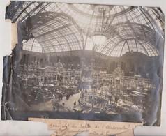 ETAT SEE SCAN 1910 SALON DE L'AUTOMOBILE AU GRAND PALAIS  +-24*18CM Maurice-Louis BRANGER (1874-1950) - Coches