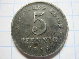 5 Pfennig 1918 (D) - [ 2] 1871-1918 : German Empire