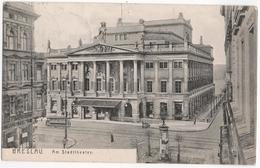 Breslau - Am Stadttheater - Pologne