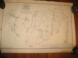 TOP !! LONCIN ( Liège ) Plan POPP Avec Matrice - +/- 1870...80 (b252) - Disegno Tecnico