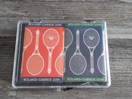 2 Magnets Roland Garros 2019 - 10 Cm X 7 Cm - Kleding, Souvenirs & Andere