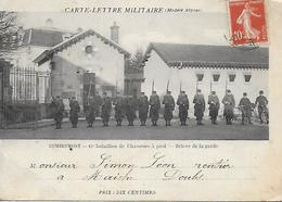 88)  REMIREMONT  -  15 E Bataillon De Chasseurs à Pied  - Relève De La Garde - Remiremont