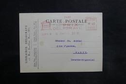 FRANCE - Affranchissement Mécanique De Paris Sur Carte Commerciale En 1932 Pour Nancy - L 35764 - Postmark Collection (Covers)