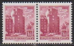 Österreich 1965 Nr.1178 Paar ** Postfr. Wohnbau Rabenhof, Wien-Erdberg ( 8780) Günstige Versandkosten - 1961-70 Ungebraucht