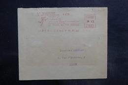 FRANCE - Affranchissement Mécanique Havas De Paris Sur Devant D'enveloppe En 1932 - L 35765 - Postmark Collection (Covers)