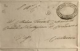 1849 M. LUPONE R.R. - ...-1850 Préphilatélie