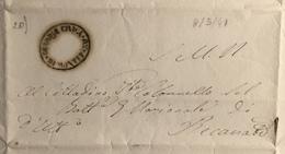 1849 M. SANTO R.R. - ...-1850 Préphilatélie