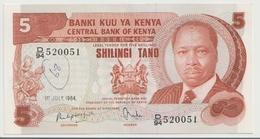 KENYA P. 19c 5 S 1984 VF - Kenia