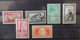 Monaco - Poste Aerienne N° 36 à 41 **  - MNH  - Cote : 35 Euros - Airmail