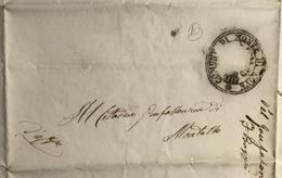 1849  M. DI NOVE - 1. ...-1850 Prefilatelia