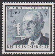 Österreich 1965 Nr.1177 ** Postfr. Tod Von Adolf Schärf ( 8783) Günstige Versandkosten - 1961-70 Ungebraucht