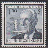 Österreich 1965 Nr.1177 ** Postfr. Tod Von Adolf Schärf ( 8784) Günstige Versandkosten - 1961-70 Ungebraucht