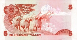 KENYA P. 19c 5 S 1984 UNC - Kenia