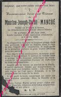 Soldat 1922-Flètre (59) Maurice MANCHE 3e Génie Rouen Détaché à Gleiwitz (haute Silésie)tombé D'une Explosion Criminelle - Décès