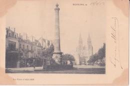 CPA -  MOULINS - La Place D'ALLIER - Moulins