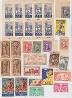 31 VIGNETTES DIVERSES - Commemorative Labels