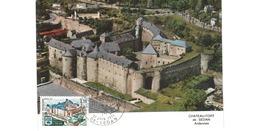Carte Premier Jour  / Château Fort   / Sedan / 12-6-1971 - 1970-79