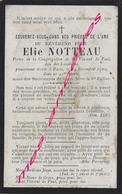 Prêtre En 1900-natif Steent-Je (59) Elie NOTTEAU Congrégation De St Vincent De Paul- Lazariste -mort à Paris - Décès