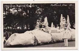 CPSM ETATS UNIS PORTLAND 1947 Rose Festival Parade - Portland